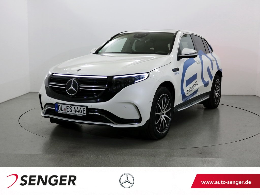 Mercedes-Benz EQC 400 4M AMG Line Burmester Distronic 360°K., Jahr 2019, electric