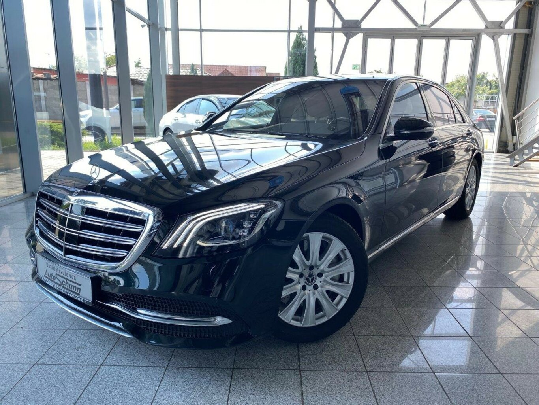 Mercedes-Benz S 560 L 4M DISTRONIC-BURMESTER-V8-KEYLESS GO-360°, Jahr 2018, Benzin