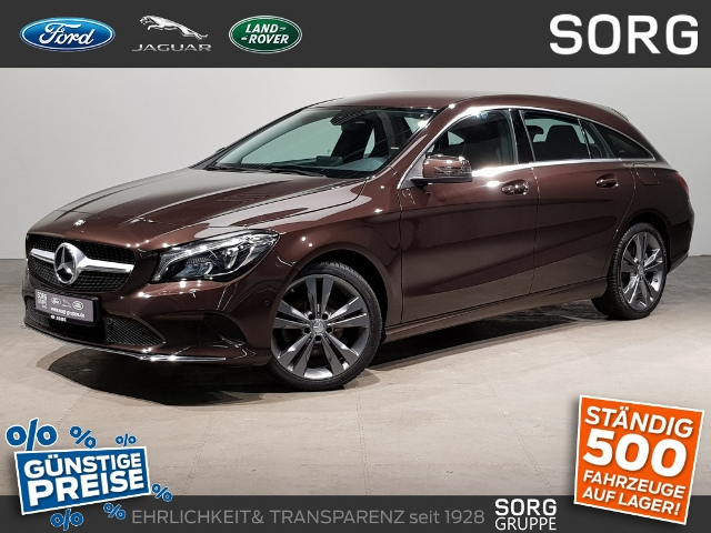 Mercedes-Benz CLA 200 Shooting Brake 1.6*AHK*NAVI*LED*, Jahr 2016, Benzin