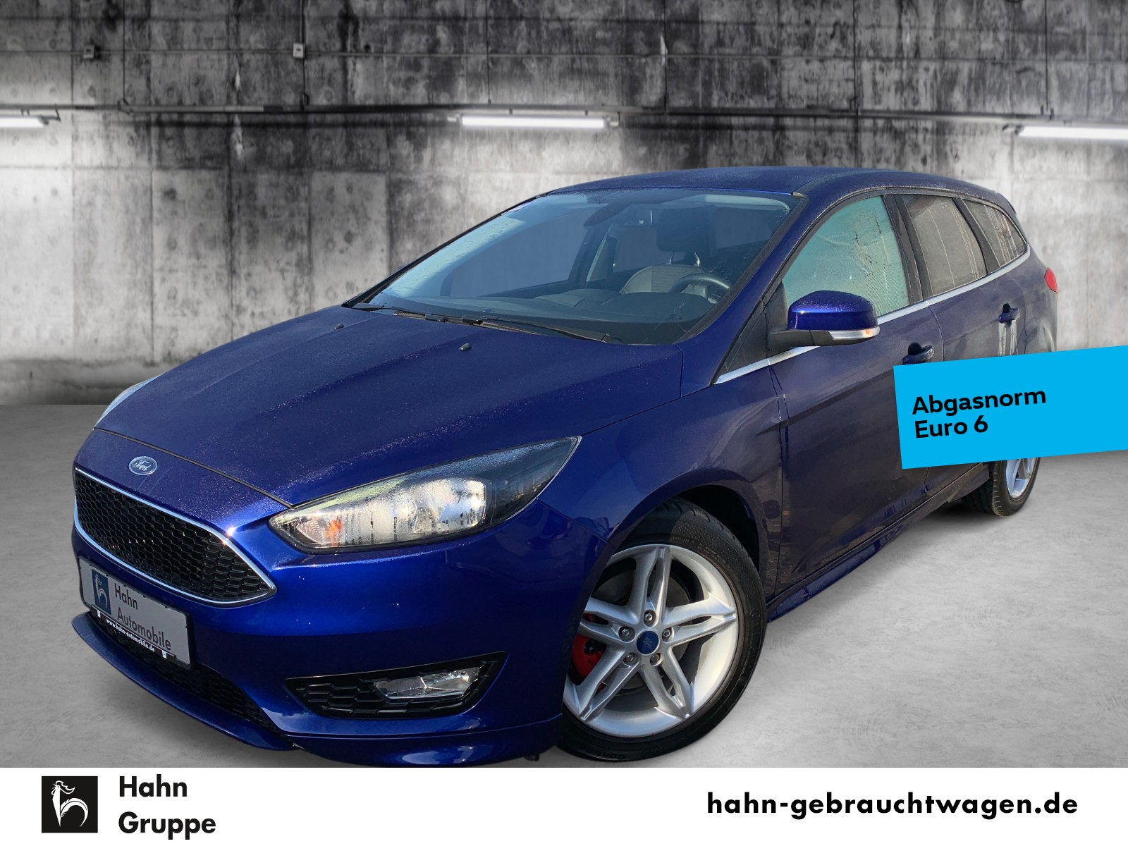 Ford Focus Turnier Titanium 1.5EcoBoost Navi Sitzh, Jahr 2016, Benzin