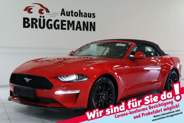 Ford MUSTANG CABRIO 2,3 ECOBOOST PERFORMANCE NAVI LED, Jahr 2019, Benzin