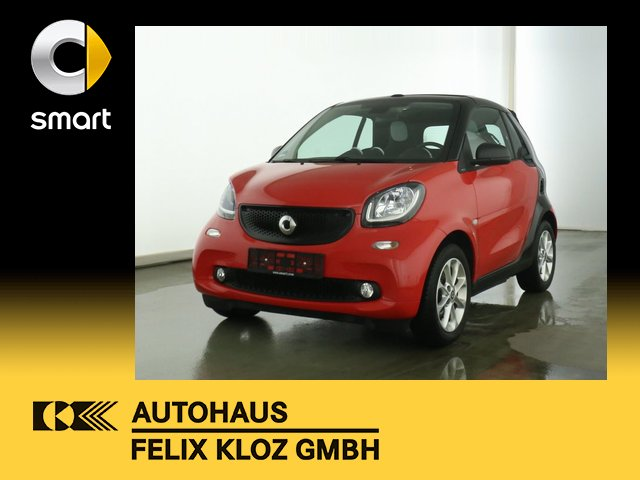 smart fortwo cabrio (11.2015->), Jahr 2018, Benzin