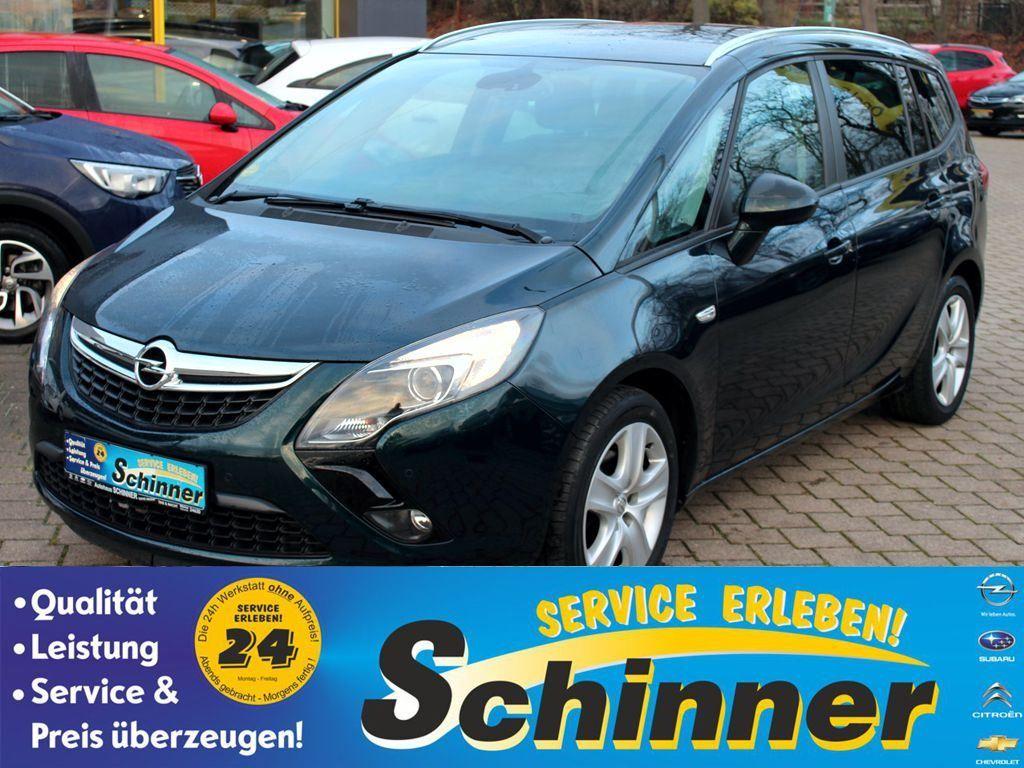 Opel Zafira Tourer 1.4 Turbo Edition, Jahr 2014, Benzin