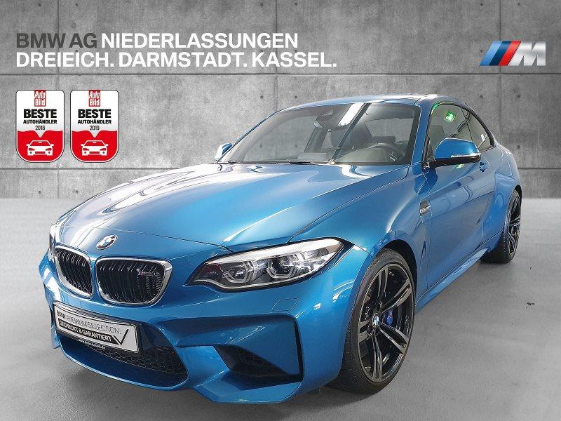 BMW M2 Coupé HiFi DAB M DKG LED RFK Navi Prof. RTTI, Jahr 2017, Benzin