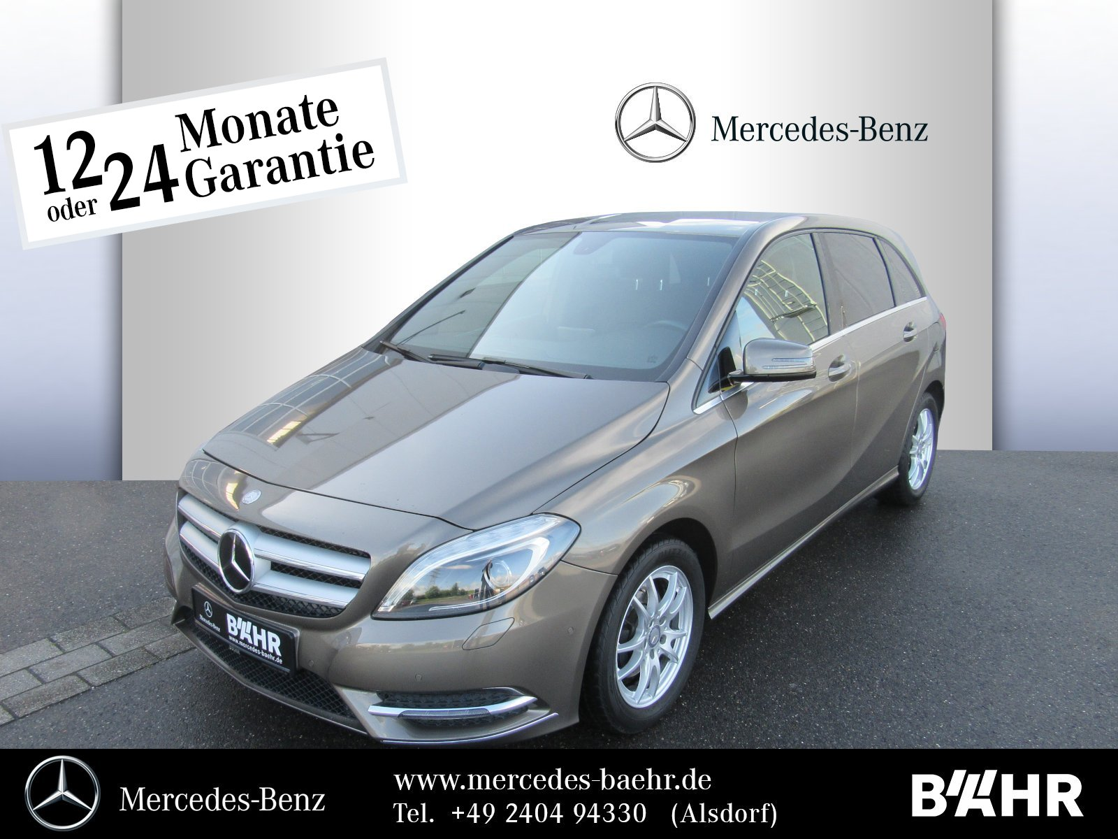 "Mercedes-Benz B 180 CDI Sport-Paket/Navi/BI-Xenon/RFK/LMR-17"", Jahr 2013, diesel"