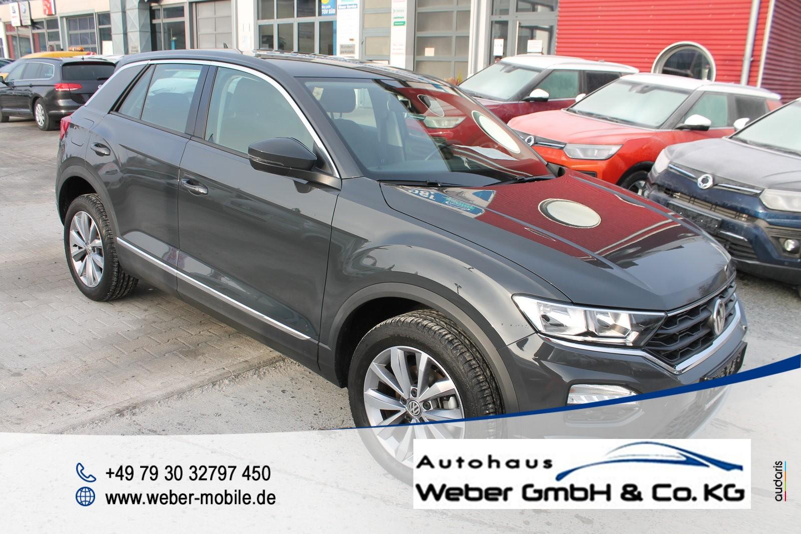 Volkswagen T-Roc 1.0 TSI *Style*Tagfahrlicht*Spurhalteassistent*Freisprecheinrichtung*Licht&Sicht-Paket*, Jahr 2018, Benzin
