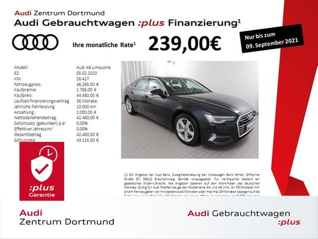 Audi A6 Limousine sport 50TDI qu. ACC/Matrix/360°, Jahr 2020, Diesel