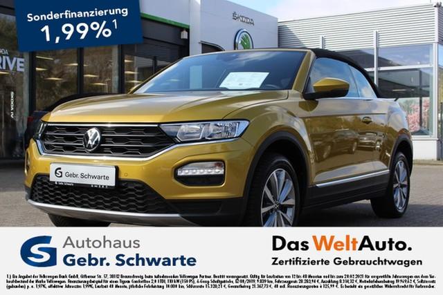 Volkswagen T-Roc Cabriolet 1.0 TSI Style 1,99% AHK+CLIMATRONIC, Jahr 2020, Benzin