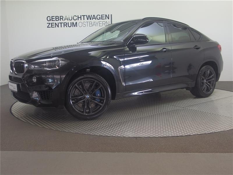BMW X6 M AHK+el GSD+Surround View+4xSHZ+Standhzg++, Jahr 2018, petrol
