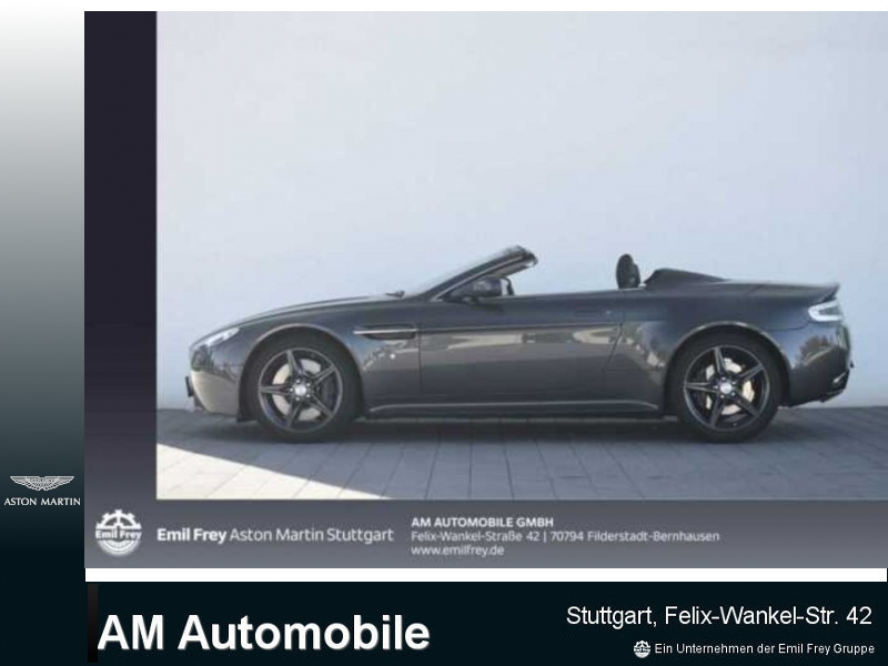 Aston Martin V8 Vantage S Roadster Sportshift, Jahr 2016, petrol
