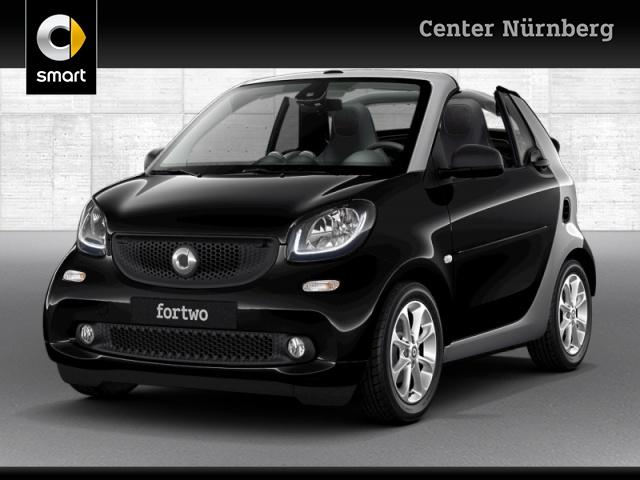 smart fortwo cabrio 52kW passion DCT cool&Media SHZ LED, Jahr 2019, Benzin