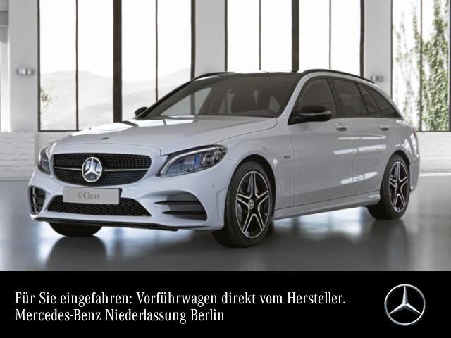 Mercedes-Benz C 300 e T AMG+Night+Pano+MultiBeam+Kamera+Spur+9G, Jahr 2021, Hybrid