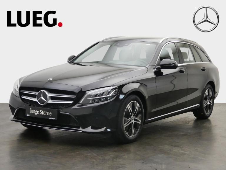 Mercedes-Benz C 180 T Avantgarde+Navi+LED-HP+SpurP+CarP+Kamera, Jahr 2020, Benzin