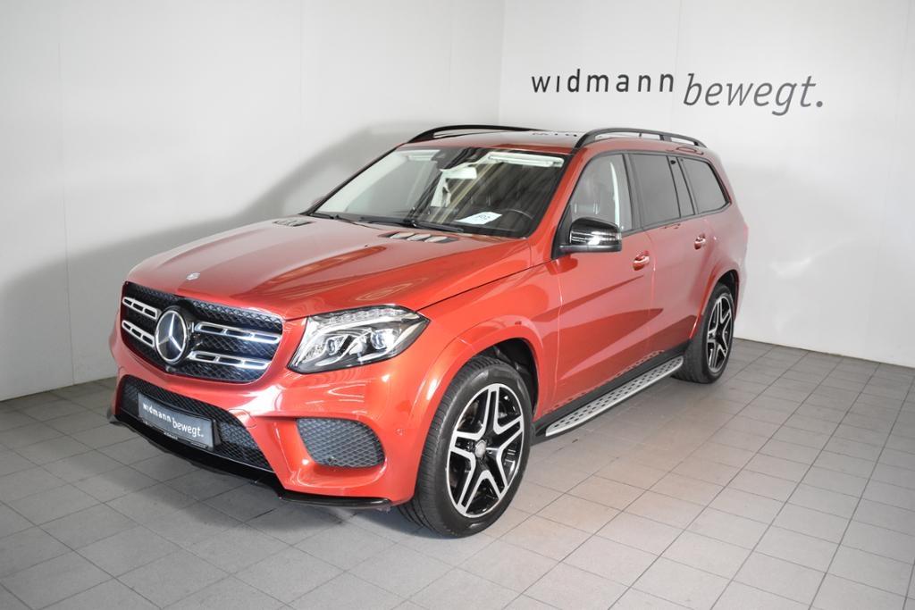 Mercedes-Benz GLS 350 d 4M *AMG*Sitzklima*Fond-tv*Designo*360*, Jahr 2016, Diesel