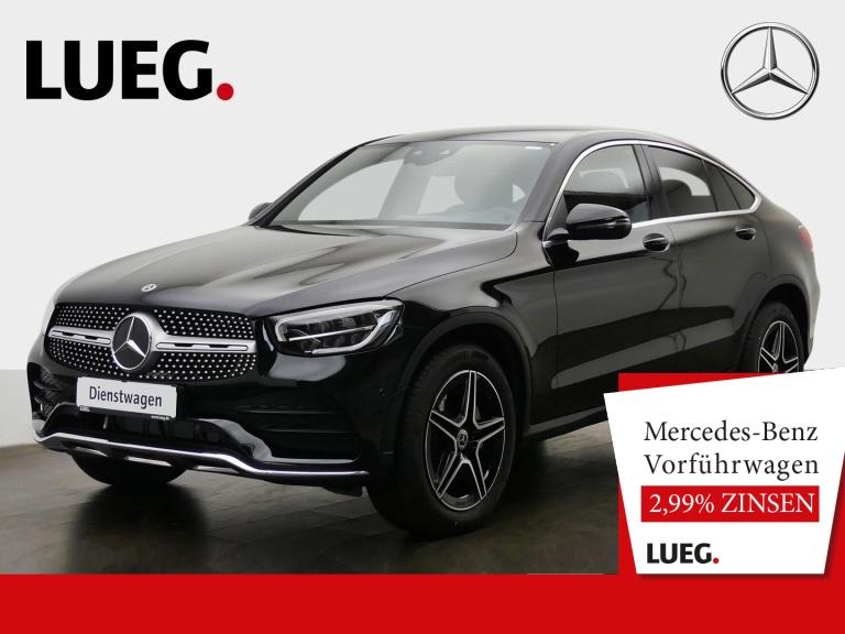 Mercedes-Benz GLC 200 4M Coupé AMG+19''+MBUX-REALITY+AHK+KAM, Jahr 2020, Benzin