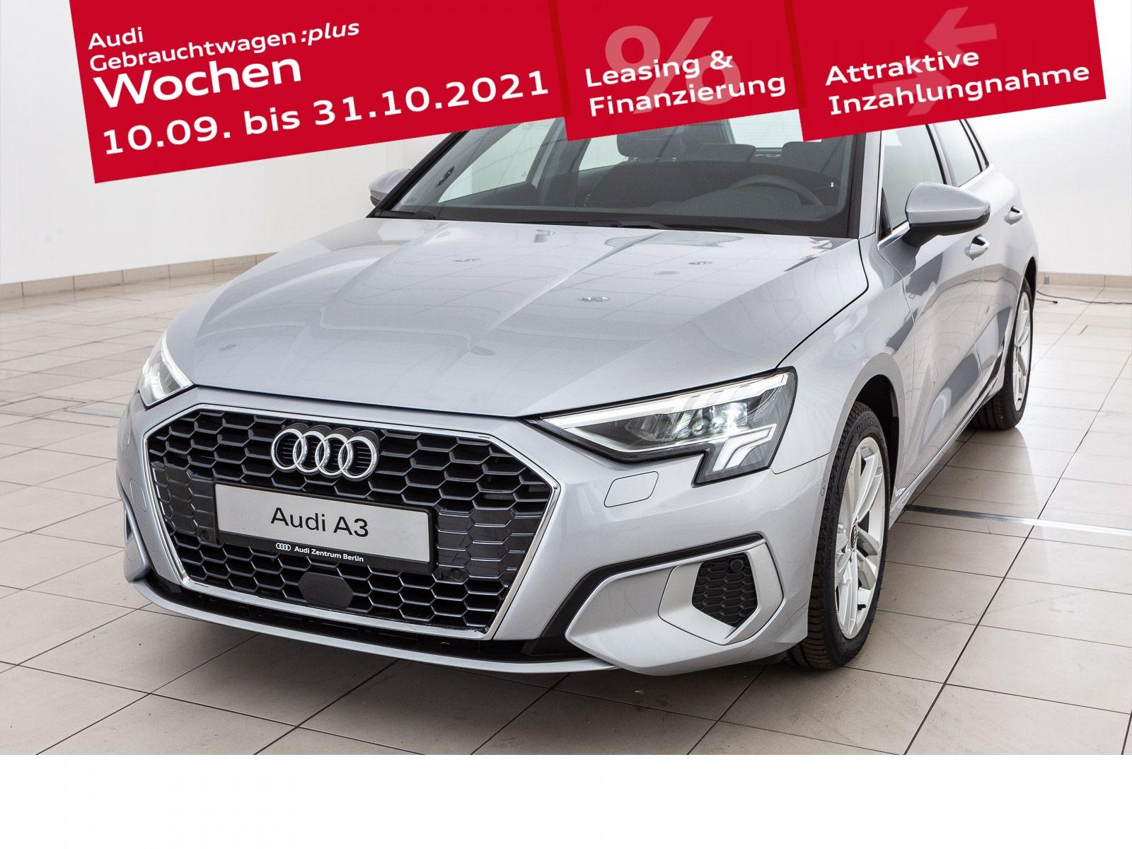 Audi A3 Sportback advanced 35 TFSI S tronic, Jahr 2021, Benzin