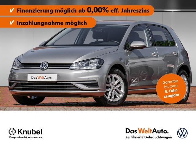 Volkswagen Golf VII Comfortline 1.0 TSI Navi AHK Front/Ligh, Jahr 2019, Benzin