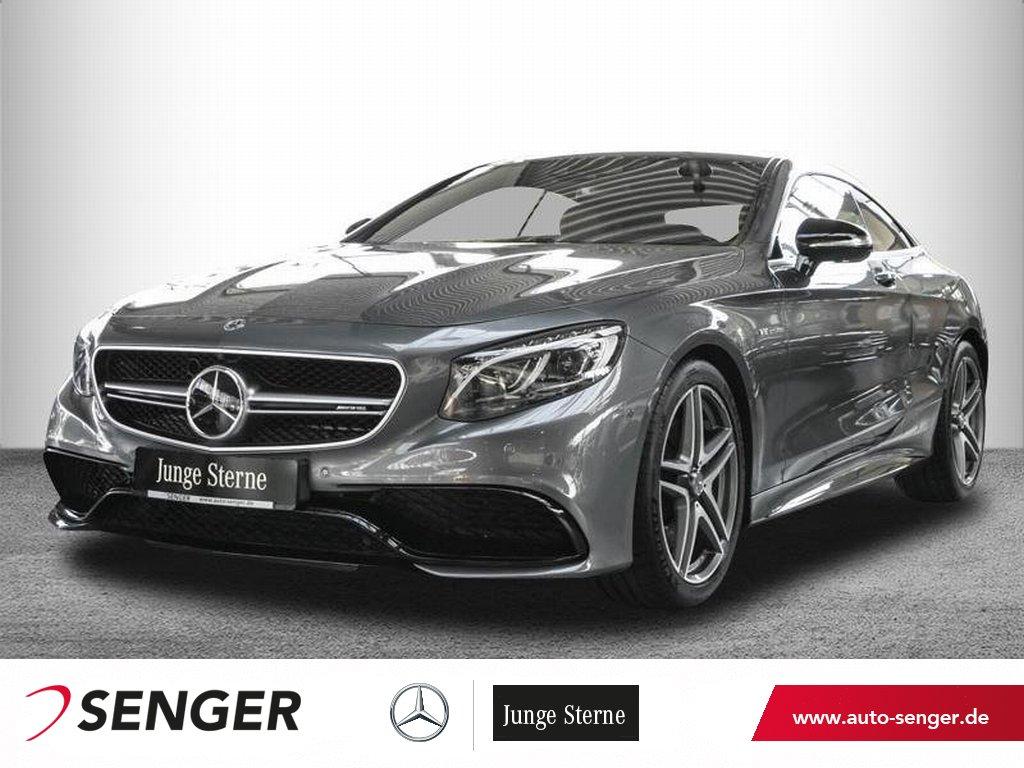 Mercedes-Benz S 63 AMG 4M Coupé *Panorama*Standheizung*Carbon*, Jahr 2017, Benzin
