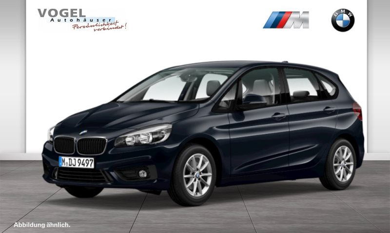BMW 216i Active Tourer Modell Advantage Euro 6 PDC Klima Tempomat Komfortzugang, Jahr 2018, Benzin