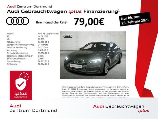Audi A5 Coupé 40TFSI S line/Rotor/LED/eSitze/VC, Jahr 2019, Benzin