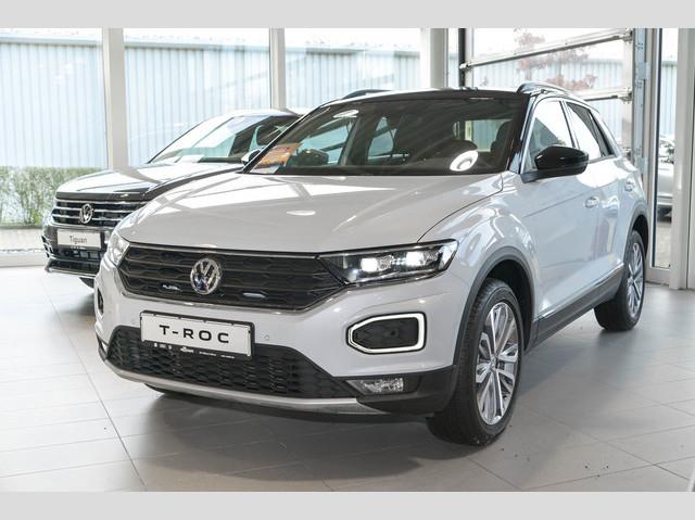 Volkswagen T-Roc 'UNITED' 1.0 TSI Navi LED PDC Klima ACC, Jahr 2020, Benzin