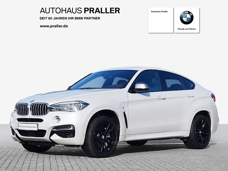 BMW X6 M50d Head-Up Navi 360° Kamera AHK Abstandstemp., Jahr 2018, Diesel