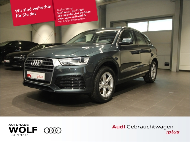 Audi Q3 2.0 TDI Sport AHK Navi+ Xenon Keyless, Jahr 2017, Diesel