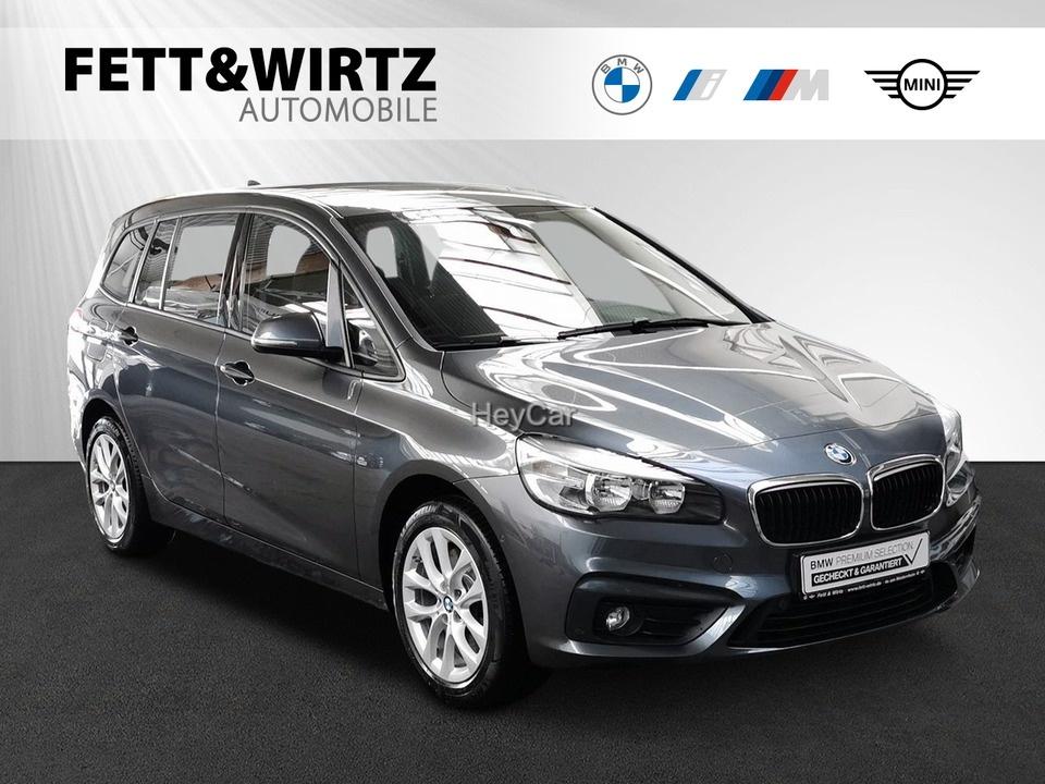 BMW 220 Gran Tourer Steptronic Aut. Klimaaut. PDC, Jahr 2018, Benzin