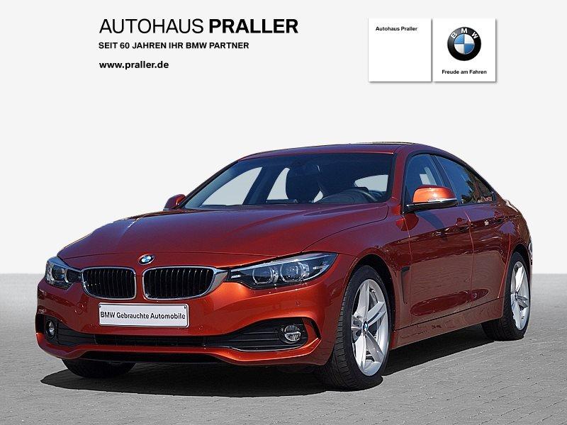 BMW 420d Gran Coupé Automatik HarmanKardon LED PDC, Jahr 2017, Diesel