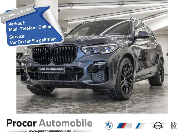 BMW X5 xDrive40d 22'' Laser HuD H/K SHZ PA+ Pano, Jahr 2021, Diesel