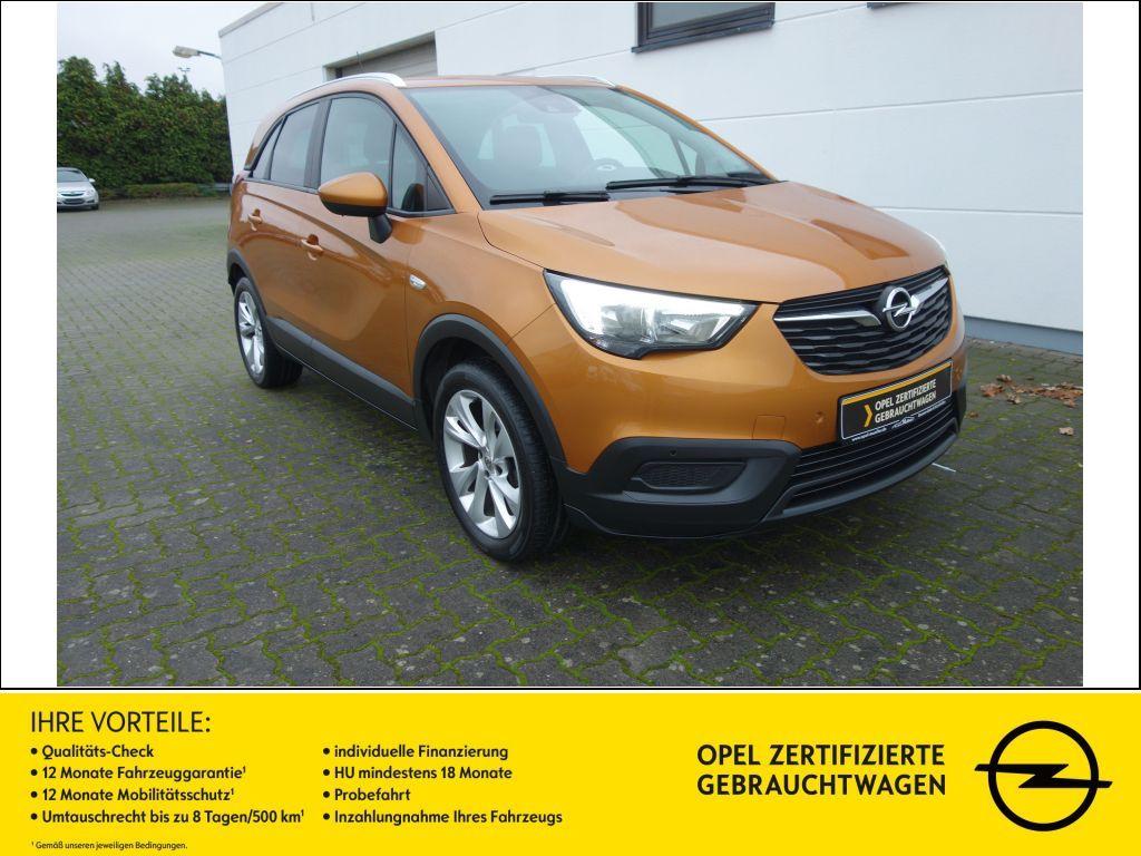 Opel Crossland X 1.2 ECOTEC S/S Edition AHK RFK SHZ, Jahr 2017, Benzin