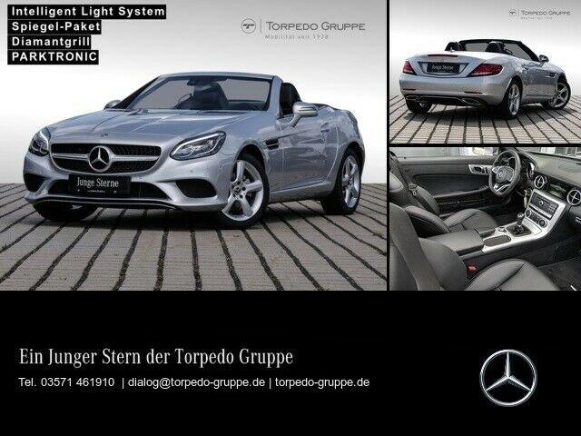 Mercedes-Benz SLC 180 AIRSCARF+LED+KAMERA+SHZ+KLIMA, Jahr 2019, Benzin
