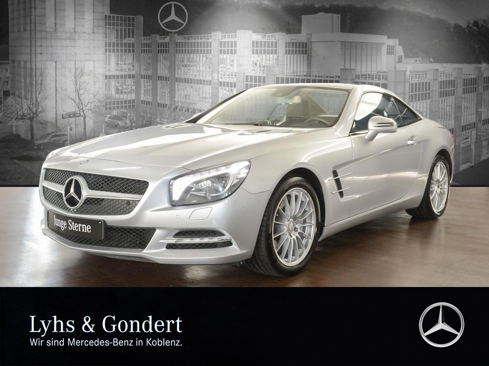 Mercedes-Benz SL 500 Sitzklima Comand PDC, Jahr 2012, petrol