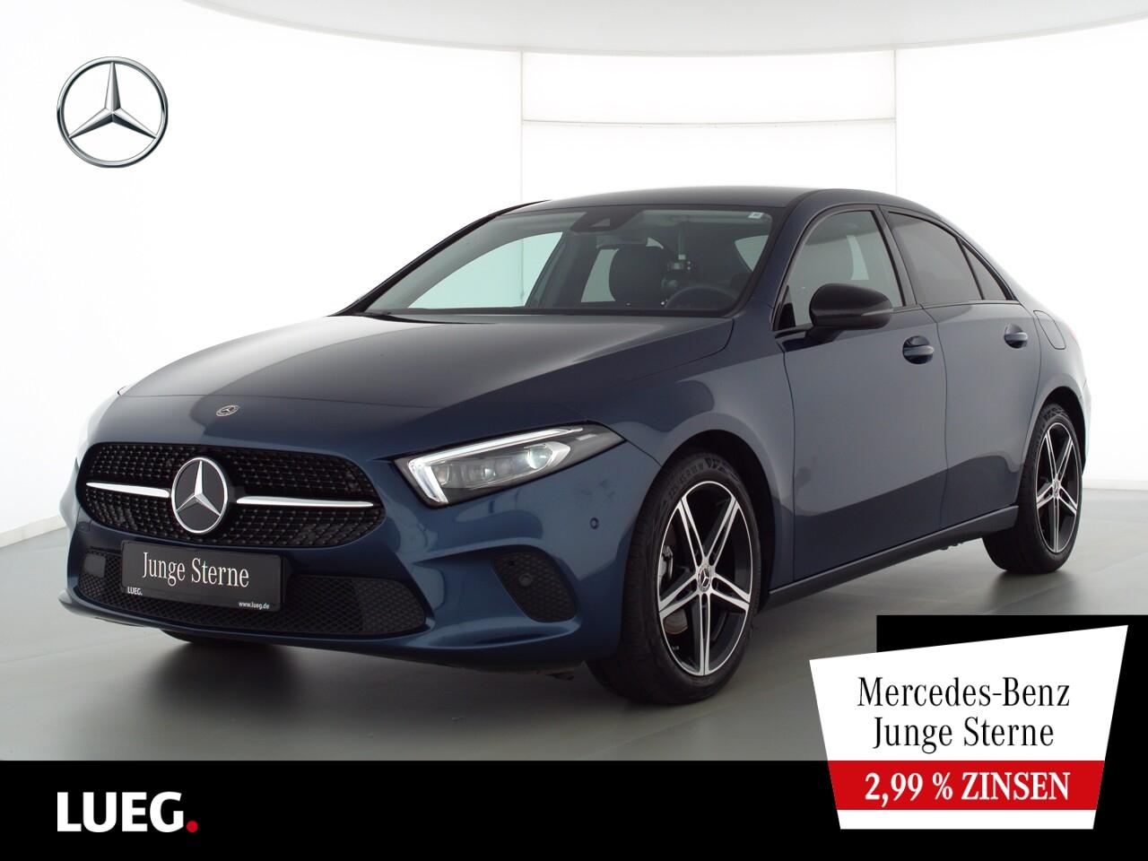 Mercedes-Benz A 180 Progressive+MBUX+NavPrem+Mbeam+Night+ParkA, Jahr 2020, Benzin