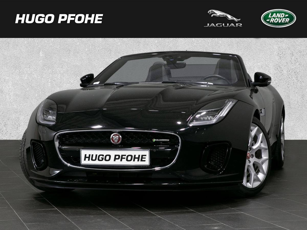 Jaguar F-Type R-Dynamic 2.0 L P300 Turbo Automatik Cabr, Jahr 2018, Benzin