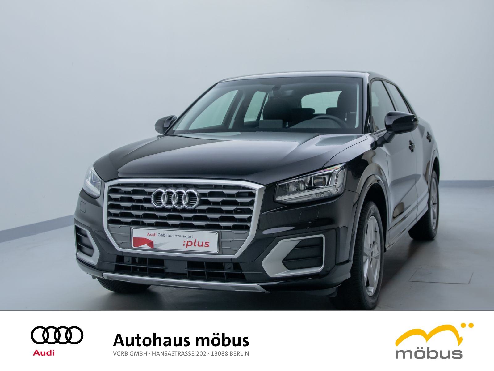 Audi Q2 sport 35 TFSI S-TRO*LED*NAV*AHK*SHZ*MFL*PDC, Jahr 2019, Benzin