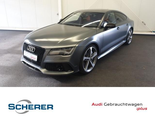 Audi RS7 4.0 TSI quattro, Matteffekt, Vollausstattung,, Jahr 2014, petrol