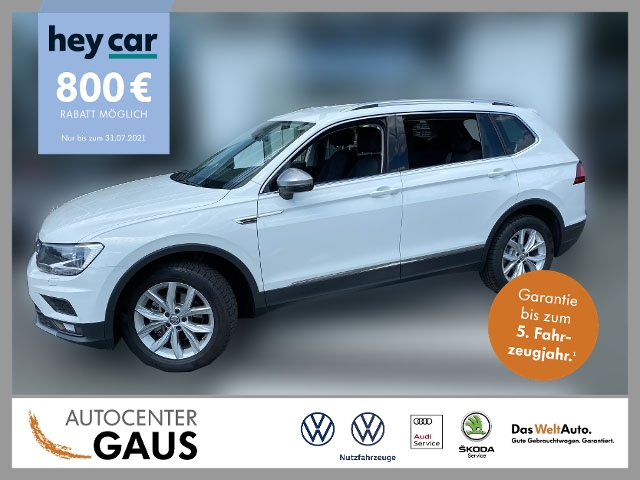 Volkswagen Tiguan Allspace Comfortline 1.5 TSI AHK 7-Sitzer, Jahr 2019, Benzin