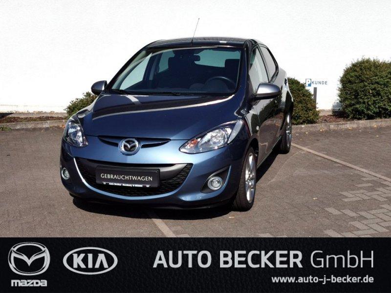 Mazda 2 1.3 Sendo + Klimaauto. + Sitzheitzung + PDC, Jahr 2014, Benzin
