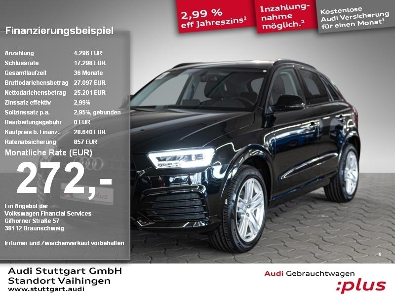 Audi Q3 sport 1.4 TFSI AHK LED Keyless Sitzheiz. PDC, Jahr 2018, Benzin