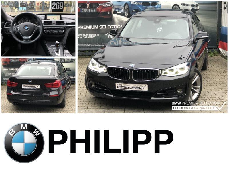 BMW 320i GT Sport Line HUD LED DA Lord.Pano PDC, Jahr 2018, Benzin