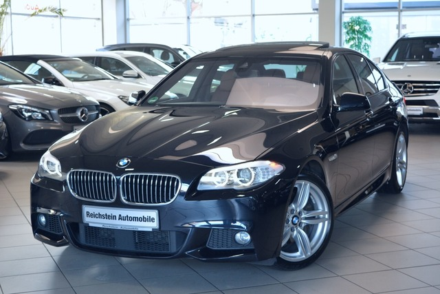 BMW 535 i xDrive M-PAKET HEAD-UP MEMORY, Jahr 2012, petrol