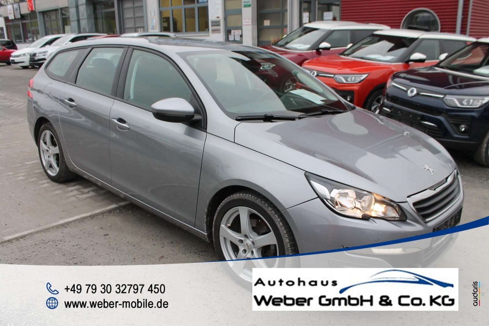 Peugeot 308 1.2 e-THP 130 SW Active *Navi*NSW*Einparkhilfe vo+hi+Kamera*Freisprecheinrichtung*, Jahr 2014, Benzin