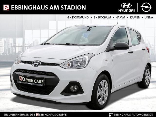 Hyundai i10 Classic 1.0 NR RDC Klima ESP Seitenairb. BC Radio Airb ABS Servo ZV Beif.- Airb., Jahr 2015, Benzin