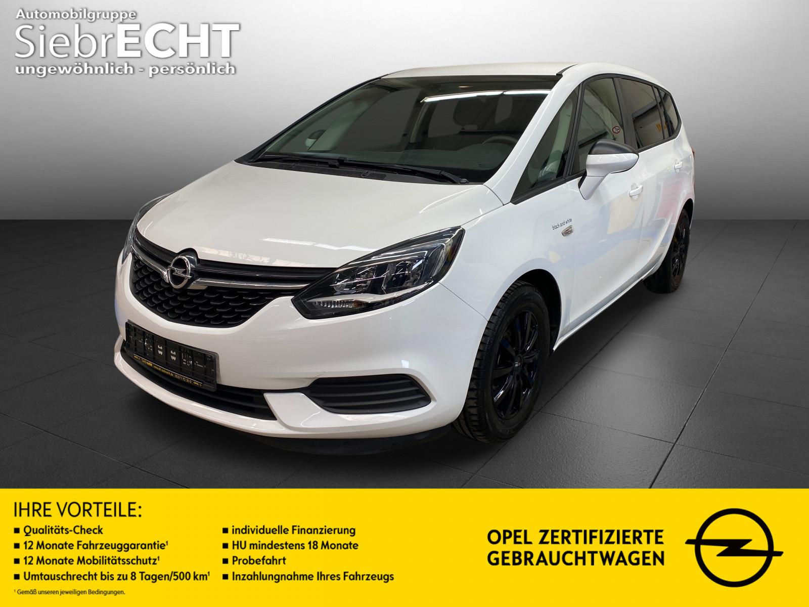 Opel Zafira Selection 1.4 T*IntelliLink*Klima*USB*uvm, Jahr 2017, Benzin