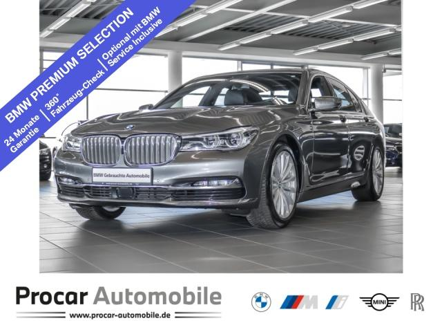 BMW 740i Head-Up DA+ RFK Soft-Close Glsd. Standhzg., Jahr 2018, Benzin