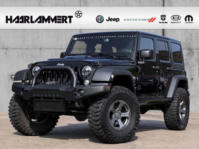 Jeep Wrangler Unlimited Rubicon JK 2.8l+LED+AHK+UMBAU, Jahr 2014, Diesel