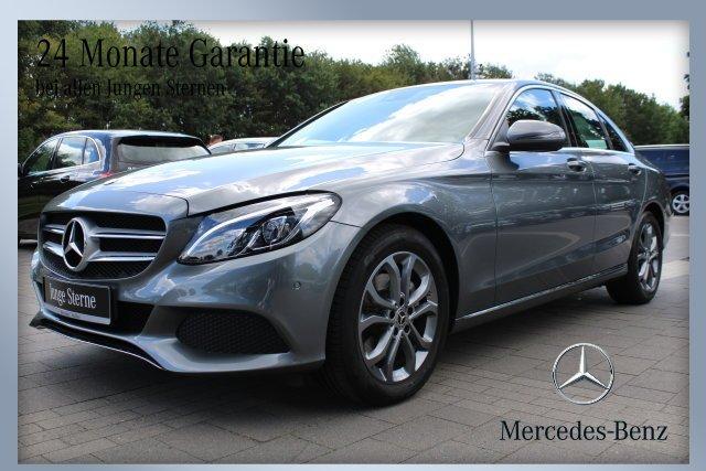 Mercedes-Benz C 200 AVANTGARDE+Automatik+Navi+PTS+Sitzheizung, Jahr 2018, Benzin