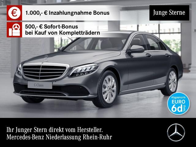 Mercedes-Benz C 180 Exclusive LED Kamera PTS Sitzh Sitzkomfort, Jahr 2019, Benzin