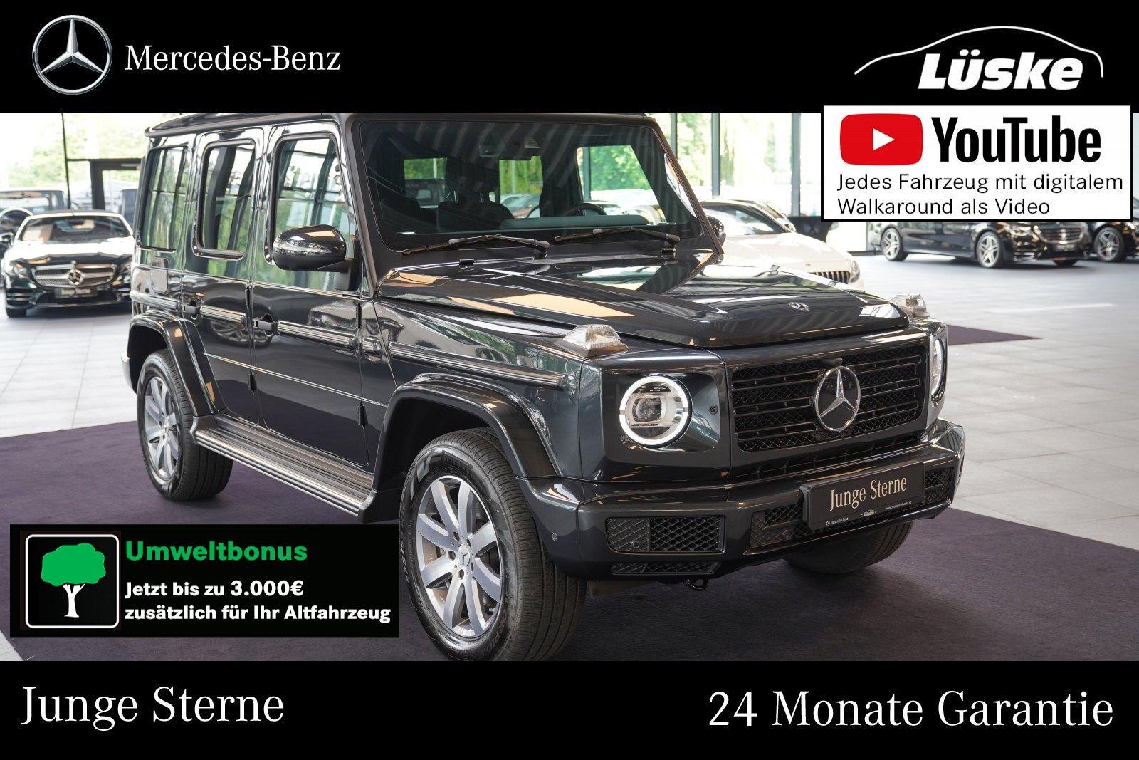 Mercedes-Benz G 500 Edelstahl Standheizung Assistenz Burmester, Jahr 2020, Benzin